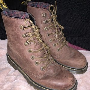 Brown Doc. Martens size 9